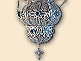 Icon silver filigree vigil lamp of Mr. Dragan Radovanovic