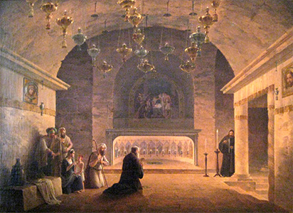 Painting of Grotto