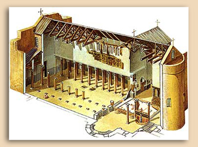 Model of the Church of the Nativity in Bethlehem