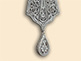 Silver filigree pectoral cross of Bishop Artemios (Radosavljevic)