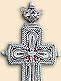 Silver filigree pectoral cross of Bishop Gregorios (Duric)