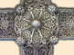 Silver filigree Table Cross of Banjska Monastery