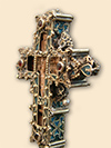 Altar cross from Gradac monastery - Serbia