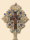 Table Cross of His Holiness Pavle, Late Serbian Patriarch - after restoration