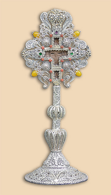 Altar Cross of Father Seraphim Baltic, Zica Monastery - Serbia