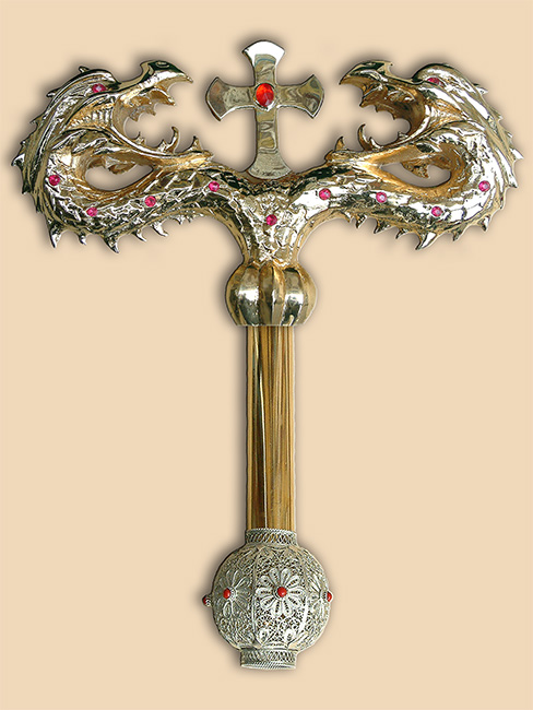 Bishop's crosier